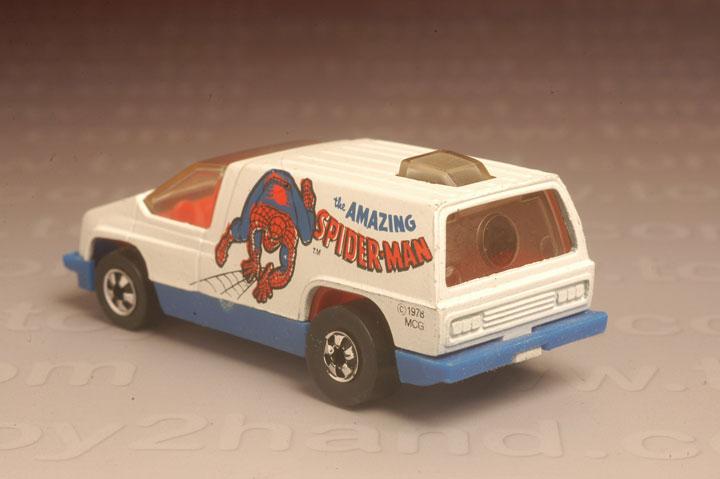 รถเหล็ก Hot Wheels No.2852 – Spiderman (Scene Machine) 1
