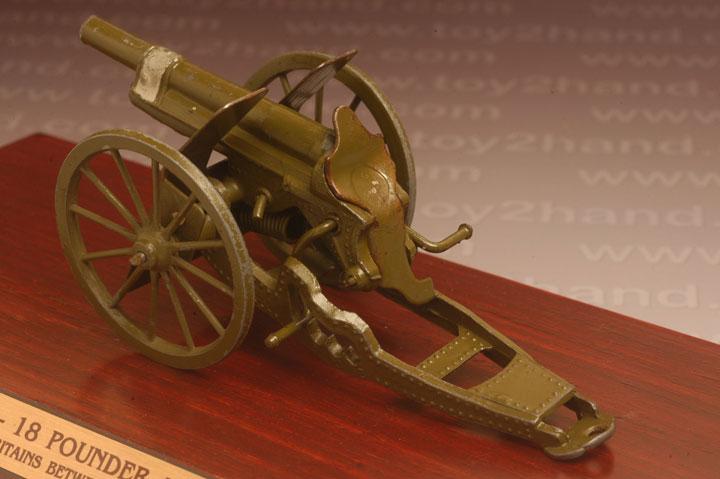 ปืนใหญ่ Britains No.1201 – 18 Pounder Artillery Gun (Royal and US. Army) 2
