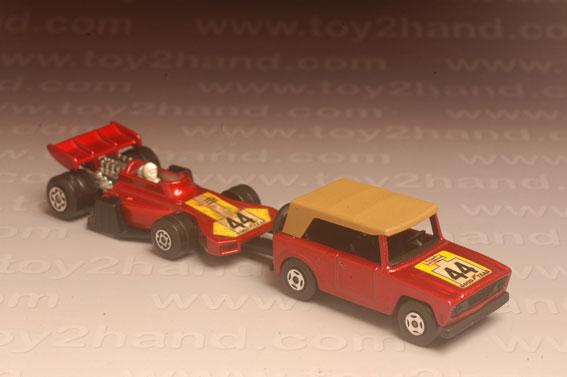 รถเหล็ก Matchbox Twin Packs No.TP9A – Field Car and Team Matchbox