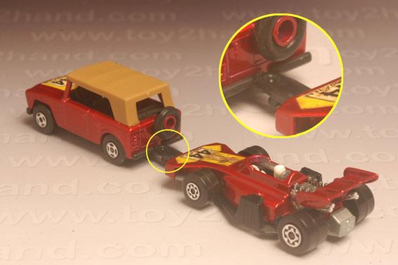 รถเหล็ก Matchbox Twin Packs No.TP9A – Field Car and Team Matchbox 1