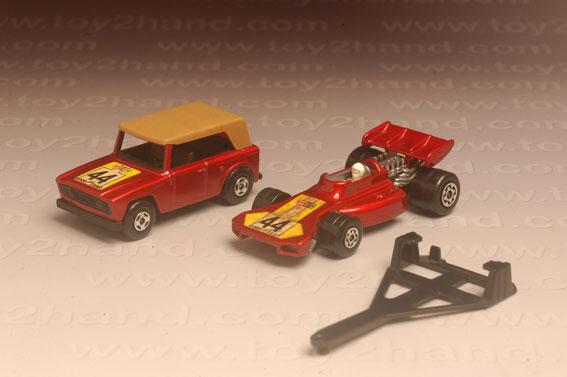 รถเหล็ก Matchbox Twin Packs No.TP9A – Field Car and Team Matchbox 2