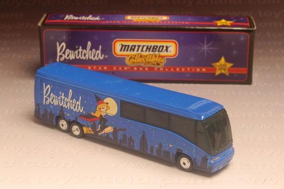 รถเหล็ก Matchbox Collectibles No.37960 – MCI Coach (Bewitched)