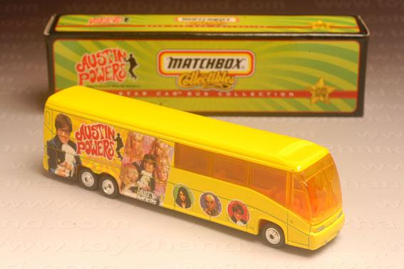 รถเหล็ก Matchbox Collectibles No.37965 – MCI Coach (Austin Powers)