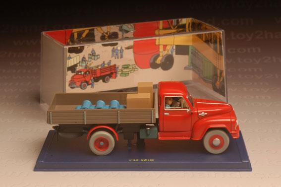 รถเหล็ก Edition Atlas – Camion Hanomag L.28-1958  (Car from Tintin Cartoon)