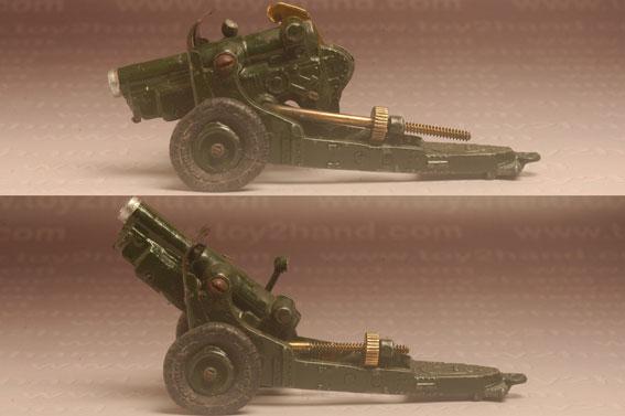 ปืนใหญ่ Britains No.1725 - 4.5 INCH Howitzer 3