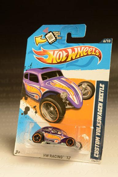 รถเหล็ก Hot Wheels No.176/247 (HW Racing'12) Custom Volkswagen Beetle