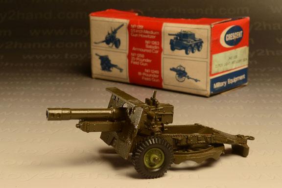 รถเหล็ก Crescent No.1250 – 25 PDR Light Artillery Gun