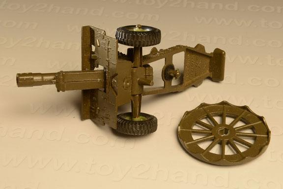 รถเหล็ก Crescent No.1250 – 25 PDR Light Artillery Gun 1