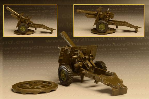 รถเหล็ก Crescent No.1250 – 25 PDR Light Artillery Gun 2