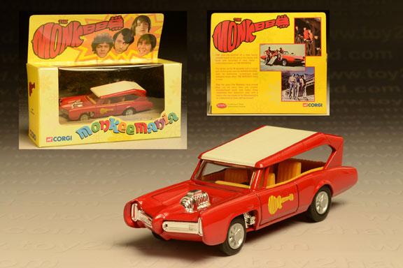 รถแหล็ก Corgi No.CC52405 The Monkeemobile