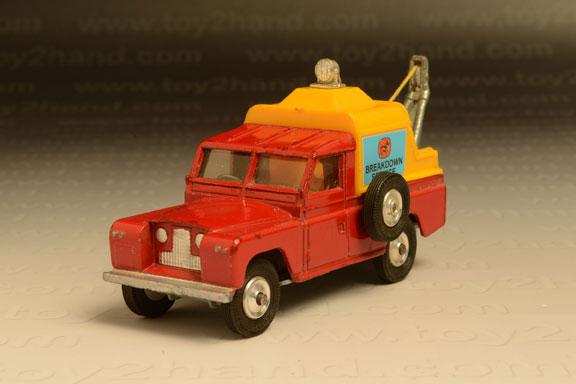 รถเหล็ก Corgi No.477A Land Rover Wrecker