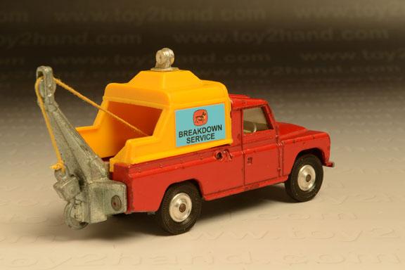 รถเหล็ก Corgi No.477A Land Rover Wrecker 1