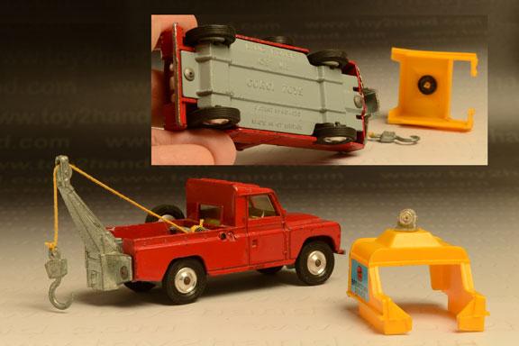 รถเหล็ก Corgi No.477A Land Rover Wrecker 2