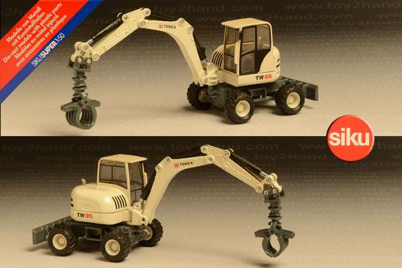 รถเหล็ก Siku No.3527 Compact Excavator (Terex TW 85)