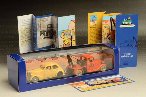 รถเหล็ก Edition Atlas Tin Tin Car REF No.2118024  Americar 1938 และ Ford Matford V8-75
