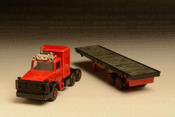 รถเหล็ก Corgi Leyland Container Truck