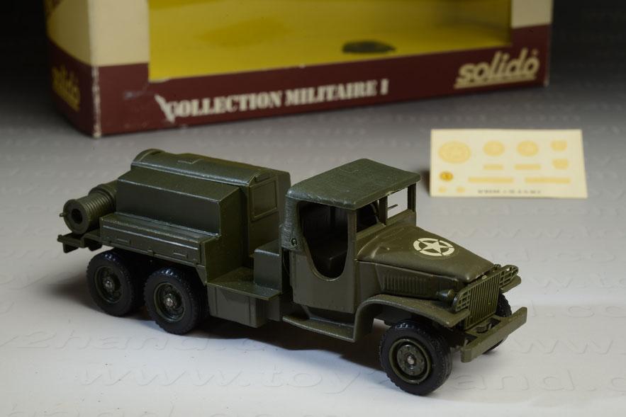 รถเหล็ก Solido No.6001 GMC Military Compresser