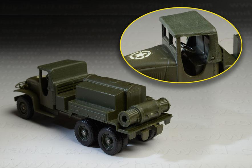 รถเหล็ก Solido No.6001 GMC Military Compresser 1