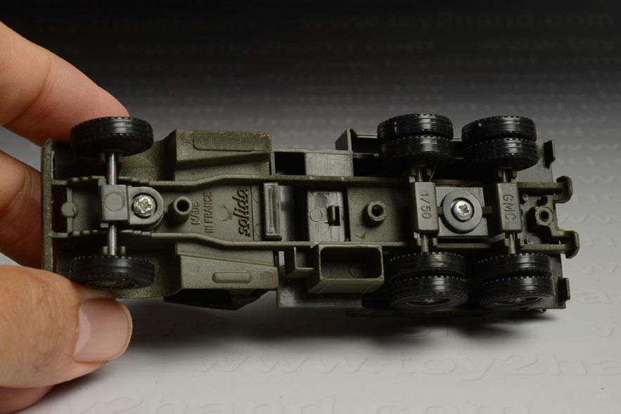 รถเหล็ก Solido No.6001 GMC Military Compresser 2