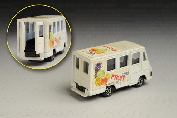 รถเหล็ก Tomica No.93 Toyota Quick Delivery Van 1