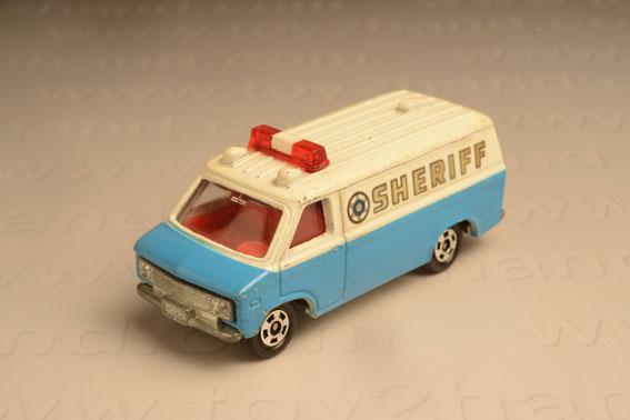 รถเหล็ก Tomica No. F9-2 Chevrolet Chevy Van