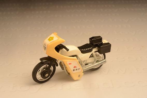 รถเหล็ก Tomica No.4-6 Honda Police Bike