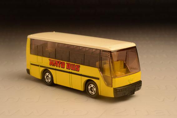 รถเหล็ก Tomica No. 41-4 Isuzu Super Hi-Decker Bus