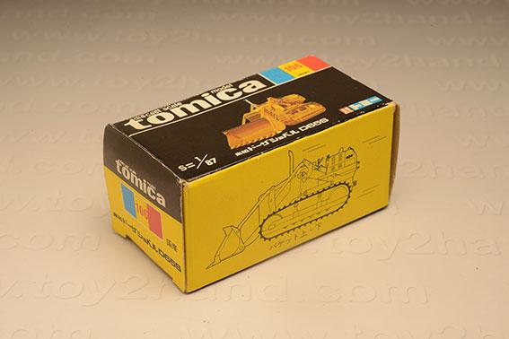 กล่องเปล่า Tomica No. 106 Komats Dozer Shovel D655