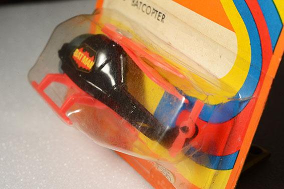 รถเหล็ก Corgi Junior No 78B Batcopter (From Batman) 1