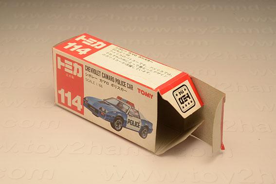 กล่องเปล่า Tomica No. 114 Chevrolet Camaro Police Car 1