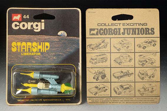 รถเหล็ก Corgi Junior No.44B Starship Liberator