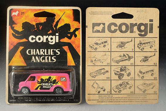 รถเหล็ก Corgi Junior No 21D Chevrolet Charlie's Angels Van