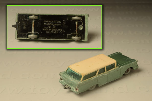 รถเหล็ก Matchbox Regular Wheels No. 31B Ford Fairlane Wagon 1