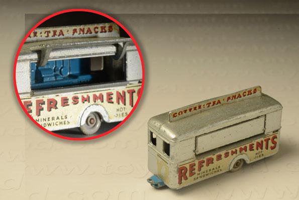 รถเหล็ก Matchbox Regular Wheels No.74A Mobile Refreshment Canteen