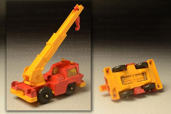 รถเหล็ก Corgi Juniors No. 88A Mobile Crane 1
