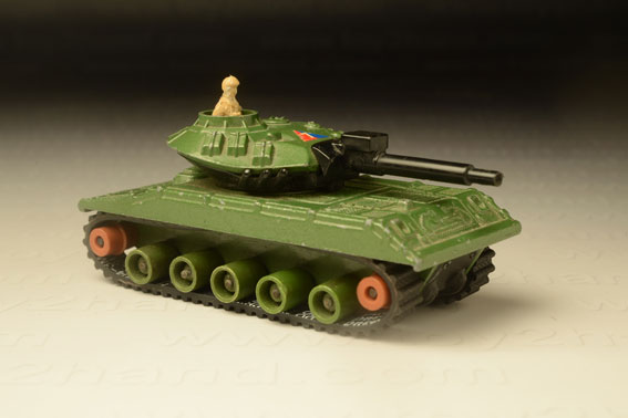 รถเหล็ก Matchbox Battle King No.BK 109 – Sheridan Tank (M551)