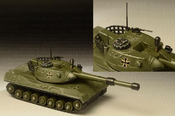 รถเหล็ก Dinky No.692 H – Leopard Tank