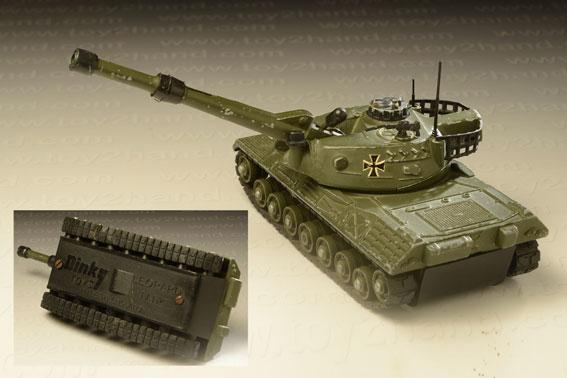รถเหล็ก Dinky No.692 H – Leopard Tank 1