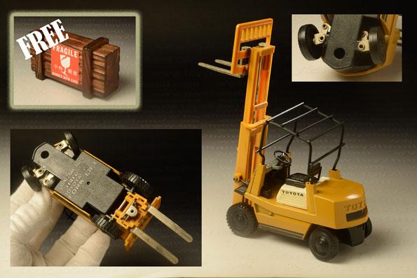 รถเหล็ก Diapet – Toyota Forklift 4FD25 1