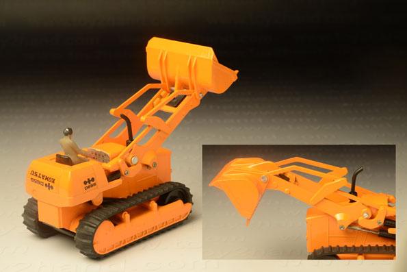 รถเหล็ก Shinsei Mini Power No.14 Komatsu Dozer Shovel 1