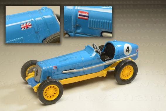 รถเหล็ก Matchbox Model of Yesteryear No.Y-14D – 1935 E.R.A. R.1.B (Bira Racing Car) 1