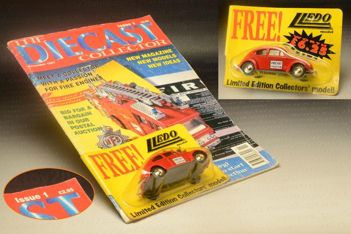รถเหล็ก Lledo Days Gone No.072 1952 VW Beetle (promotional)