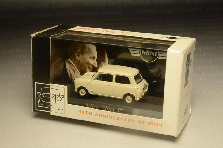 รถเหล็ก Lledo Mini No.1 40th Anniversary of Mini 2