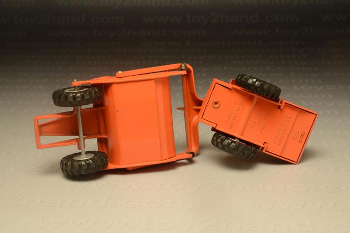 รถเหล็ก Matchbox Kingsize No.6A Allis-Chalmers Earth Craper 2
