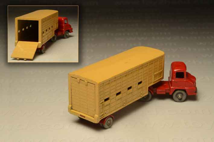 รถเหล็ก Matchbox Major Packs No M7A Jannings Cattle Truck 1