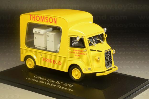 รถเหล็ก Eligor No.G11656004 Citroen Type HZ-1959 (Thomson  Frigeco)