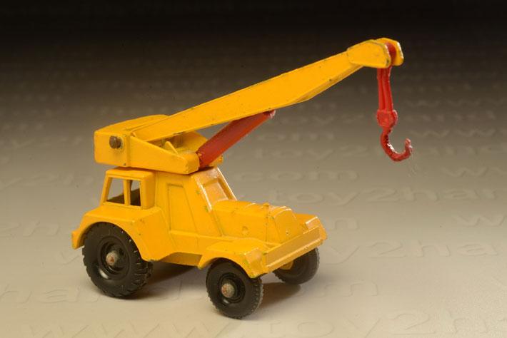 รถเหล็ก Matchbox Regular Wheels No.11 Jumbo Crane