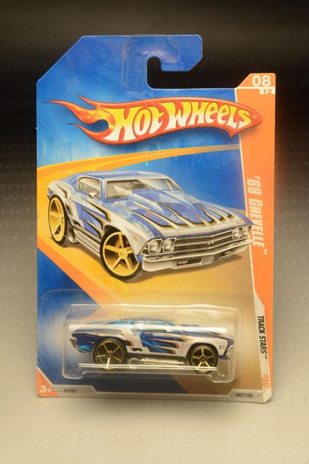 รถเหล็ก Hot Wheels No.062/166  1969 Chevelle