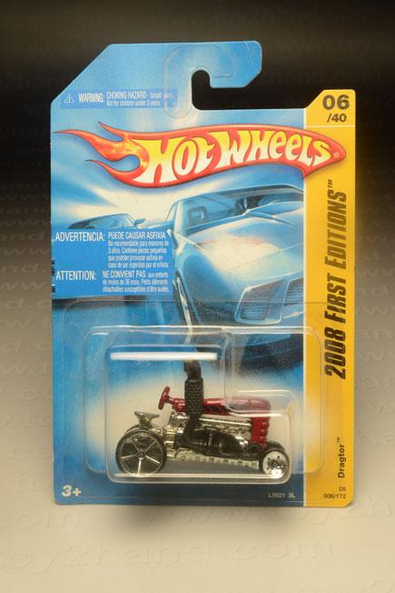 รถเหล็ก Hot Wheels No.006/172 Dragtor