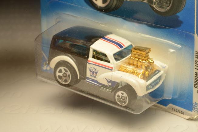 รถเหล็ก Hot Wheels No.115/166 Moris Wagon 1